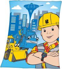 b8a0f8de605d68 Herding Koc Dla Dzieci Bob Budowniczy 130X160 Cm