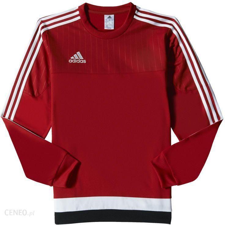 Bluza adidas Tiro 15 Training CzerwonyBialyCzarny