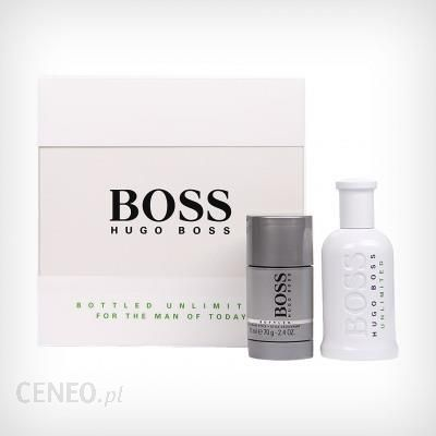 af8c4d02d8b21 Hugo Boss No. 6 Unlimited woda toaletowa 100ml + No. 6 Bottled Szary  dezodorant