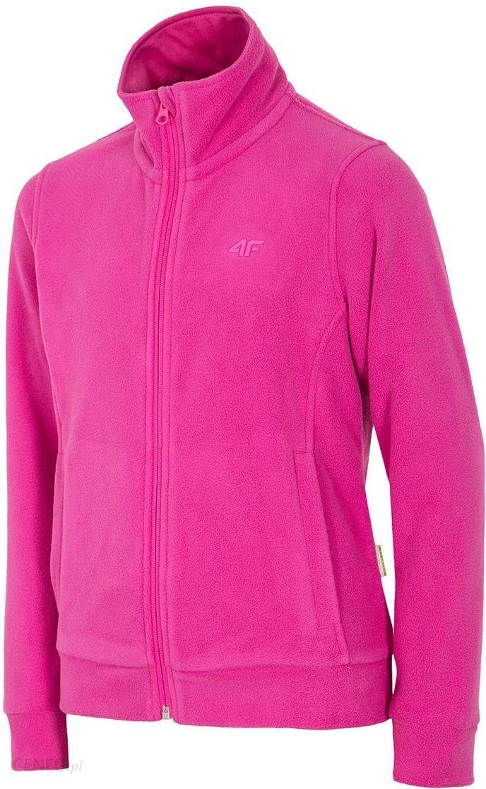 2b937877a7ce 4F Dziewczęca bluza polarowa Pink 4F fuksja 146 - Ceny i opinie ...