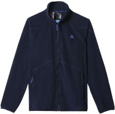 bluza adidas czarno niebieska bez zamka z apturen