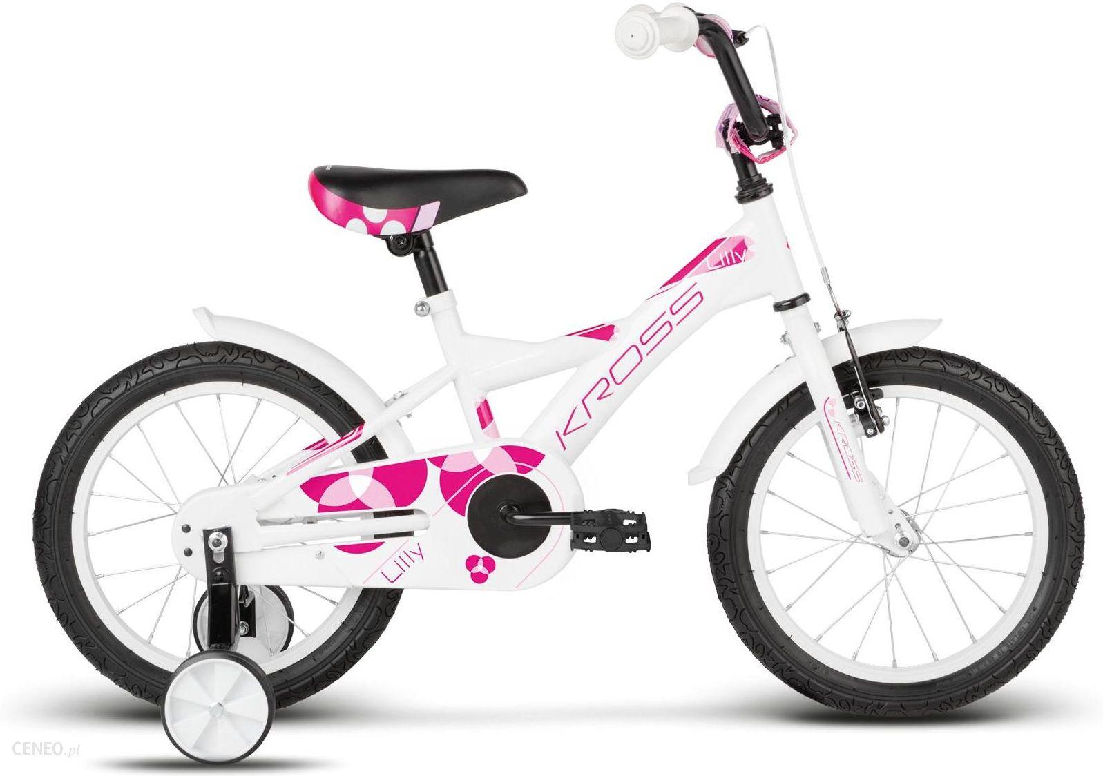 Rower Kross Lilly Biały Różowy 2017
