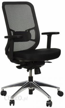 Gn Krzesło Obrotowe Biurowe Z Podstawą Aluminiową I Wysuwem