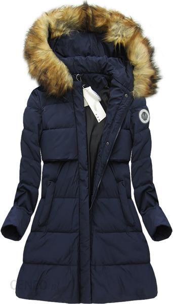 kurtka zimowa damska z puchem naturalnym