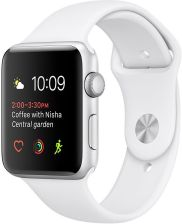 Apple Watch Series 1 42mm Srebrny/Biały (MNNL2MPA)