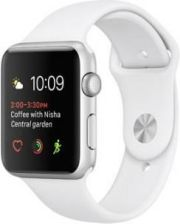 Apple Watch Series 2 38mm Srebrny/Biały (MNNW2MPA)