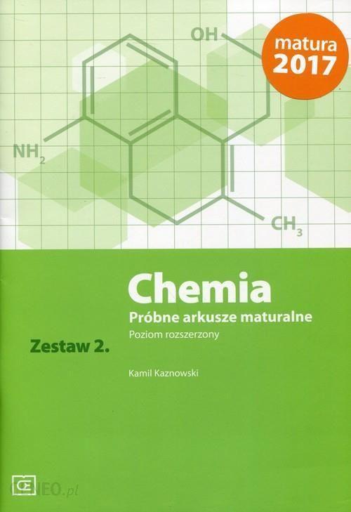 arkusze maturalne chemia pazdro pdf