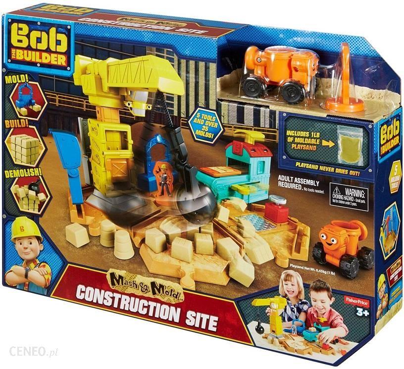 Fisher Price Bob Budowniczy Zestaw Plac Budowy Piasek Kinetyczny Dmm55 Ceny I Opinie Ceneo Pl