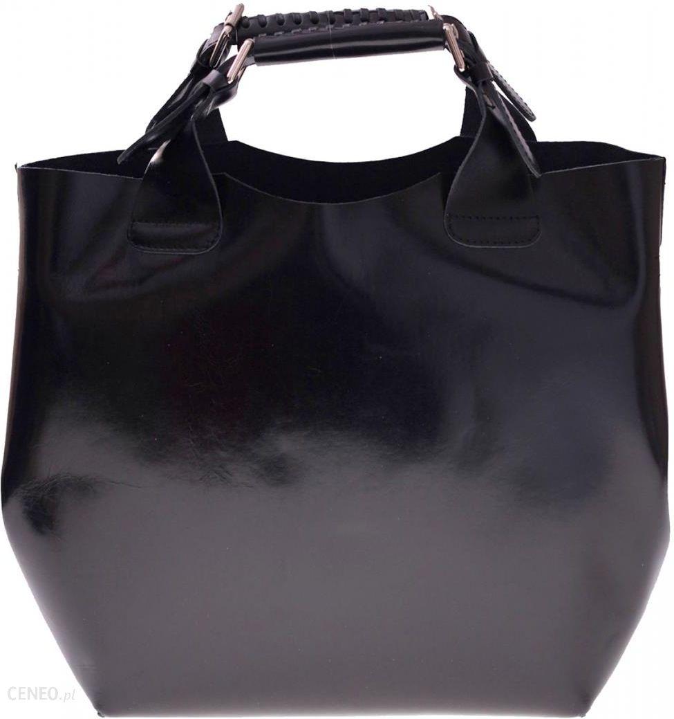 c1c450f8989df Torebka skórzana Shopperbag z kosmetyczką Czarna (kolory) - Ceny i ...