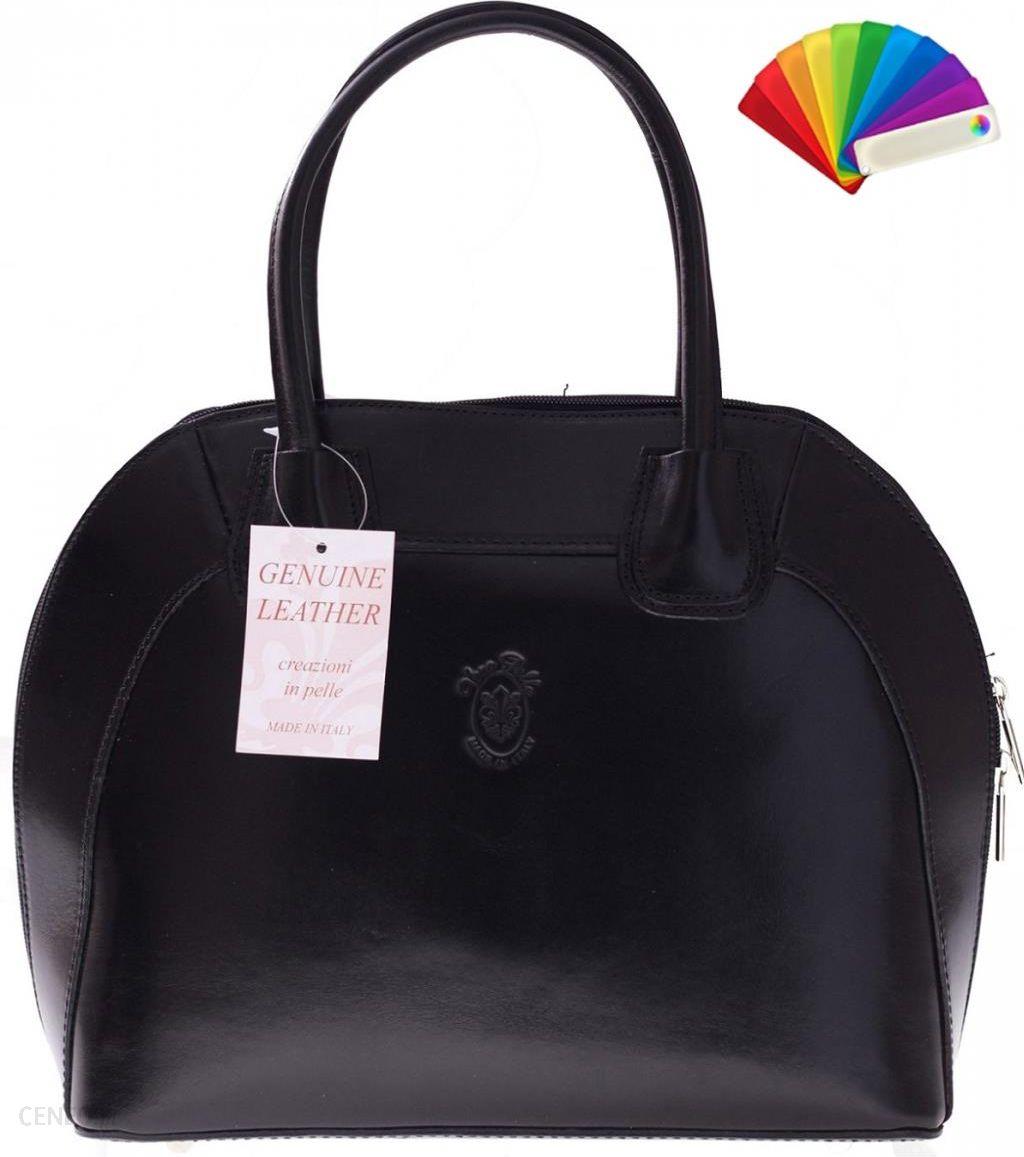 13c64ddf543fd Włoski kuferek Skórzany genuine leather Czarny (kolory) Torebka skórzana  Włoski kuferek Genuine Leather Czarny