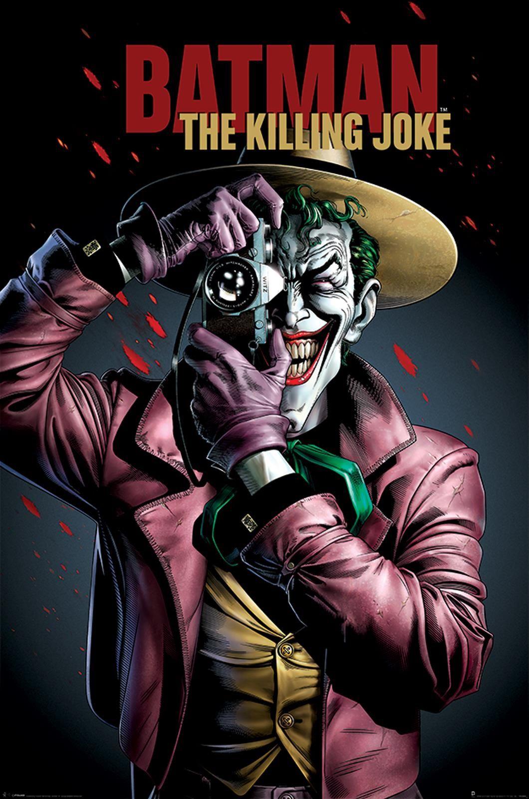 Dc Comics Batman The Killing Joke Cover Plakat 61x915 Cm