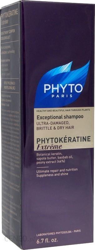 Phyto Phytokeratine Extreme Keratynowy Szampon Odbudowujący 200ml
