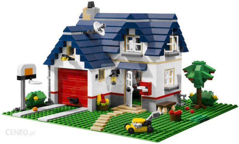 Klocki Lego Creator Miły Domek Rodzinny 5891 Ceny I Opinie Ceneopl