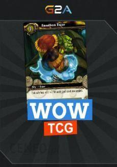 World Of Warcraft Sandbox Tiger TCG Loot Code