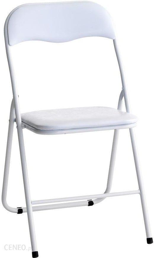 Jysk Krzesło Składane Vig Białe