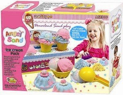 Donerland zabawka kreatywna Magiczny piasek Fabryka lodów (DONMA05021)