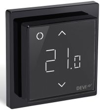 Devi Regulator Devireg Smart WI-FI Czarny (140F1143)