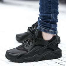 best cheap 0b6fc 5a963 Buty Nike Wmns Air Huarache Run Triple Black (634835-012) - Ceny i ...