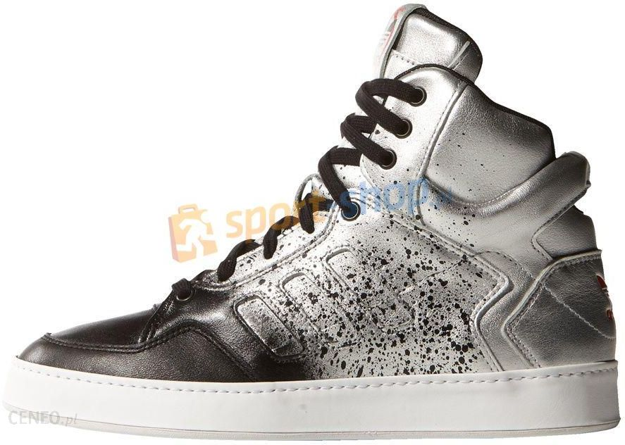 new style e9535 9beaf Buty damskie Originals Bankshot 2.0 Adidas (srebrno-czarne) - zdjęcie 1