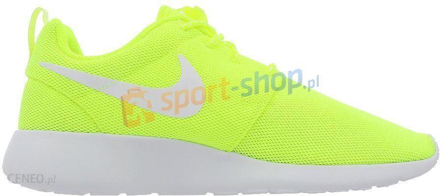 duża obniżka eleganckie buty najwyższa jakość Buty damskie Roshe One Nike (żółte)