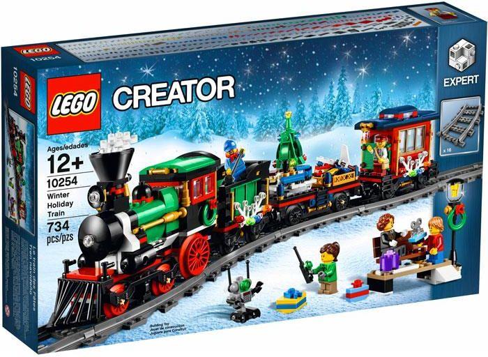 Klocki Lego Creator Expert świąteczny Pociąg 10254 Ceny I Opinie