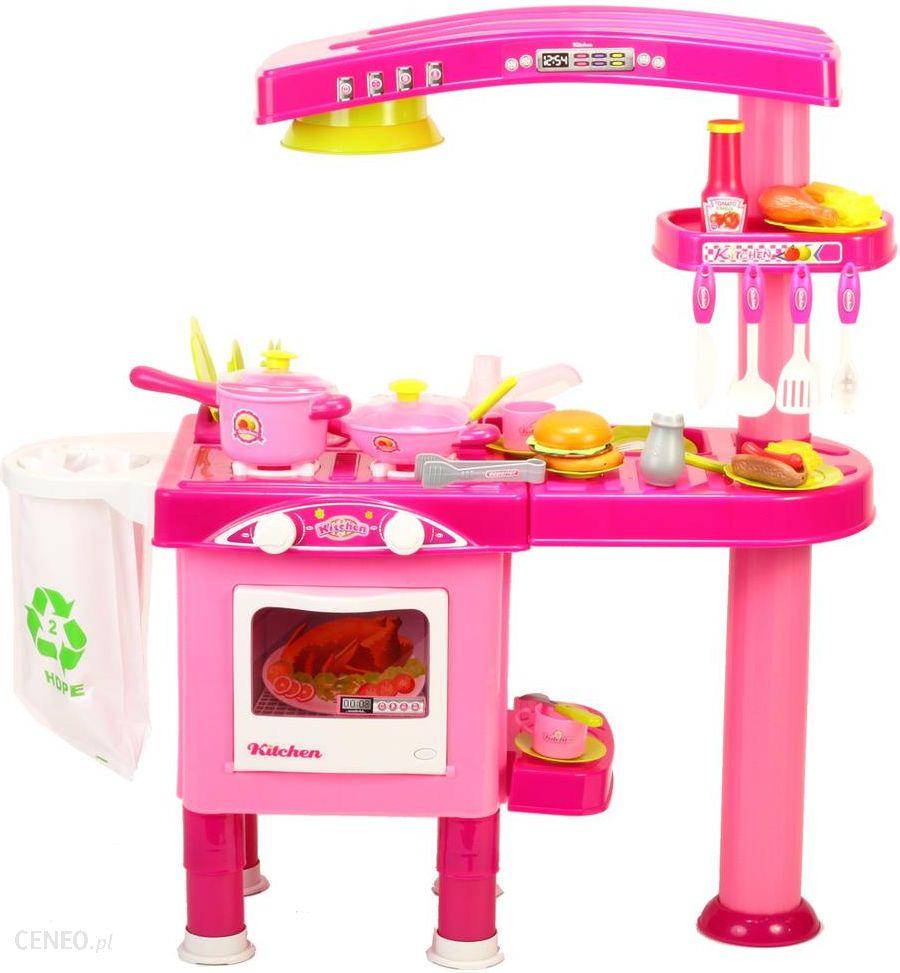Malplay Kuchnia Dla Dzieci Z Piekarnikiem I Akcesoriami Rozowa