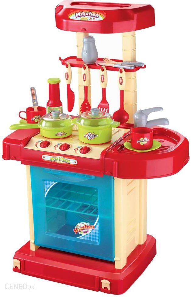 Malplay Kuchnia Dla Dzieci Z Piekarnikiem I Akcesoriami W Walizce