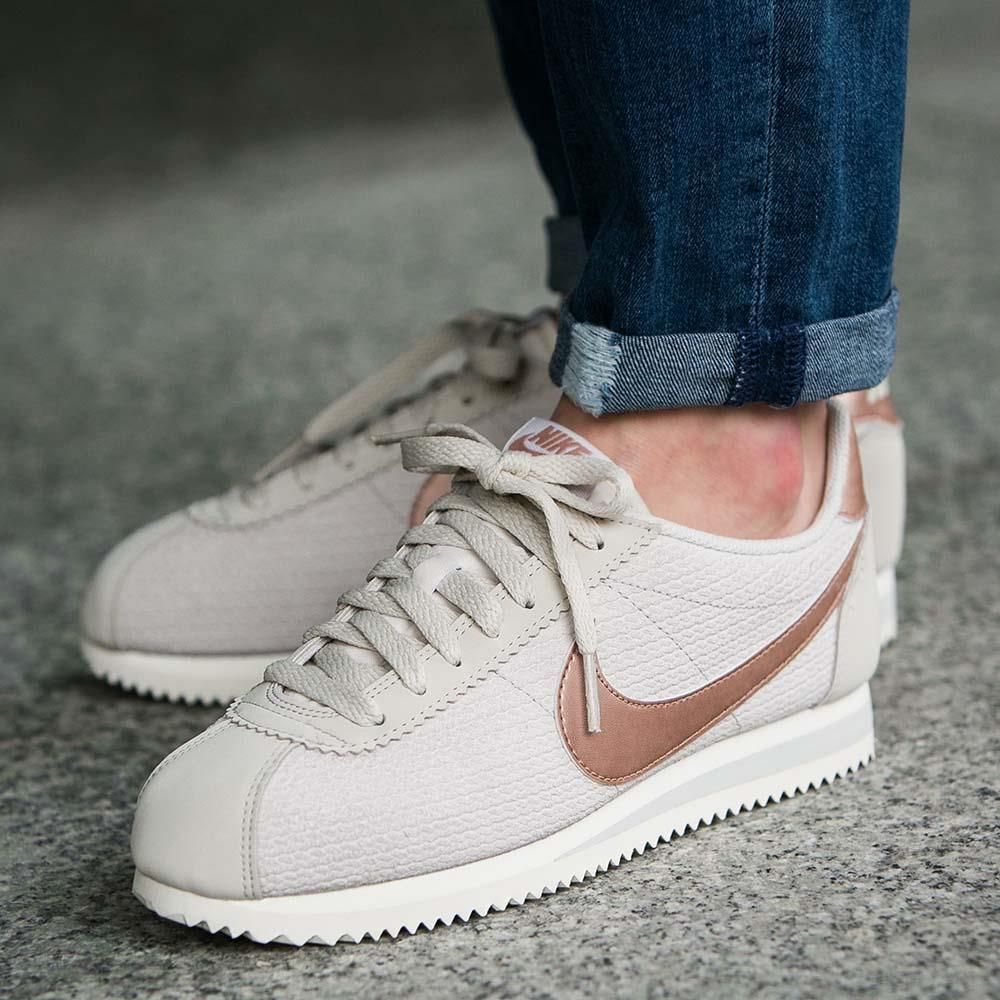 Buty Nike W Classic Cortez Leather Lux damskie sportowe