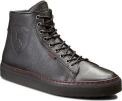 e702f2f25521d Sneakersy KAZAR - Adriano 21643-01-00 Czarny. Czarne Sztyblety Skóra  naturalna.