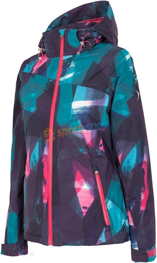 Kurtka narciarska damska KUDN604 Outhorn (kolorowa)