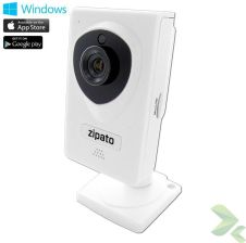 Zipato Indoor Ip Camera - Bezprzewodowa Kamera Do Monitoringu Hd Ios & Android & Windows SMENCM629GB