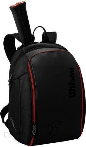 b5c34c5a737fb Wilson Federer Dna Backpack Czarny (Wrz832796) - Ceny i opinie ...