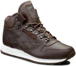 62a4a806 Buty Reebok - Cl Leather Mid Basic BD2538 Dark Brown/White/TrekGrey ...