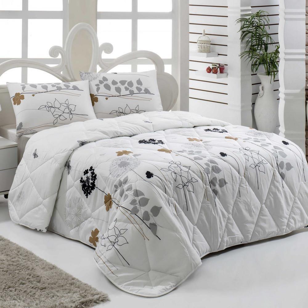 Narzuta Pikowana Na łóżko Dwuosobowe Liona 195x215 Cm