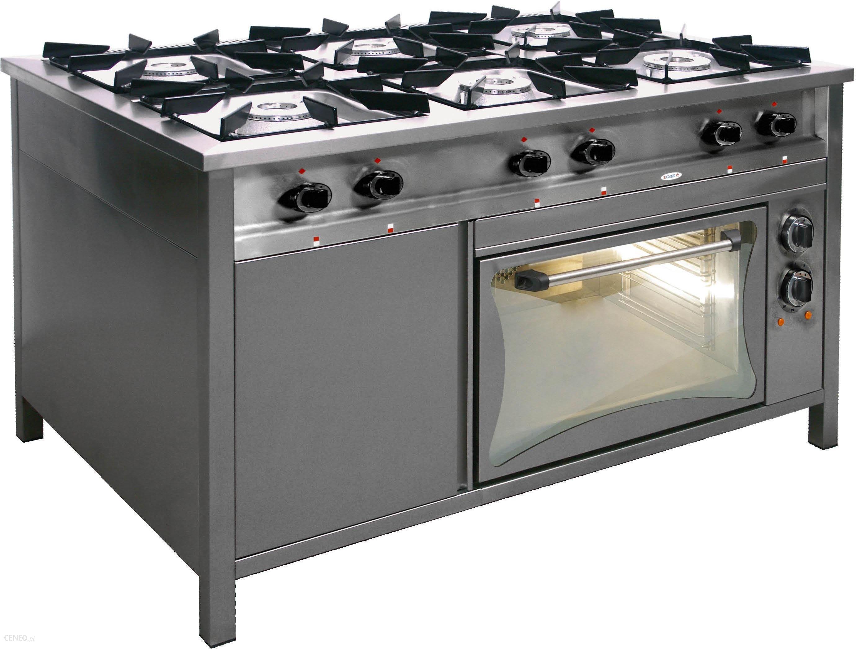 Egaz Kuchnia Gazowa 6 Palnikowa Z Piekarnikiem Elektrycznym