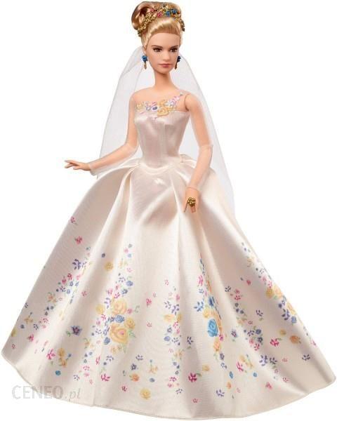 Lalka Mattel Disney Kopciuszek W Sukni ślubnej Cgt55 Ceny I