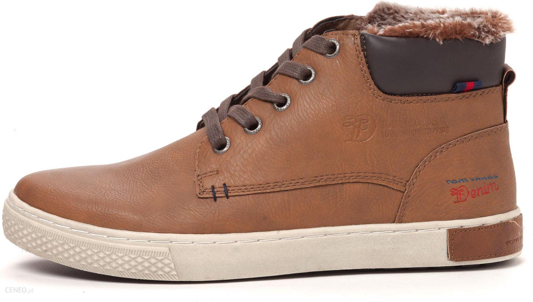 42e8b19f442095 Tom Tailor buty za kostkę męskie 44 brązowy - Ceny i opinie - Ceneo.pl