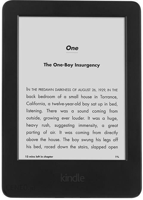 dc20b4c33e0eed ... Czytnik e-book Amazon Kindle Touch 8 Wi-Fi (Bez Reklam) Czarny