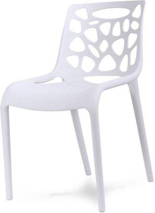 Hile Krzesło 202 Ażurowe Plastic Chair Biały Opinie I Atrakcyjne Ceny Na Ceneopl