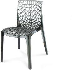 Hile Krzesło Ażurowe 261 Przezroczystoszary Opinie I Atrakcyjne Ceny Na Ceneopl
