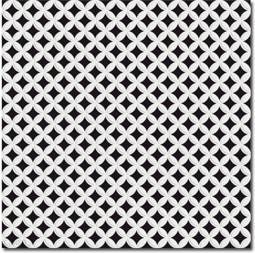 tagina deco d 39 antan etoile noir blanc 60x60 opinie i ceny na. Black Bedroom Furniture Sets. Home Design Ideas
