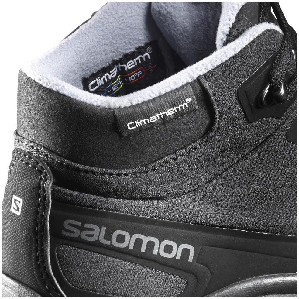 Buty damskie SALOMON Shelter CS WP L37687300 BlackBlackStone Blue