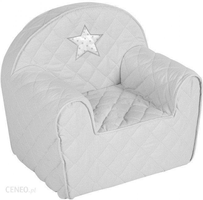 Klupś Fotelik Dla Dziecka 50X35X45 Popielaty
