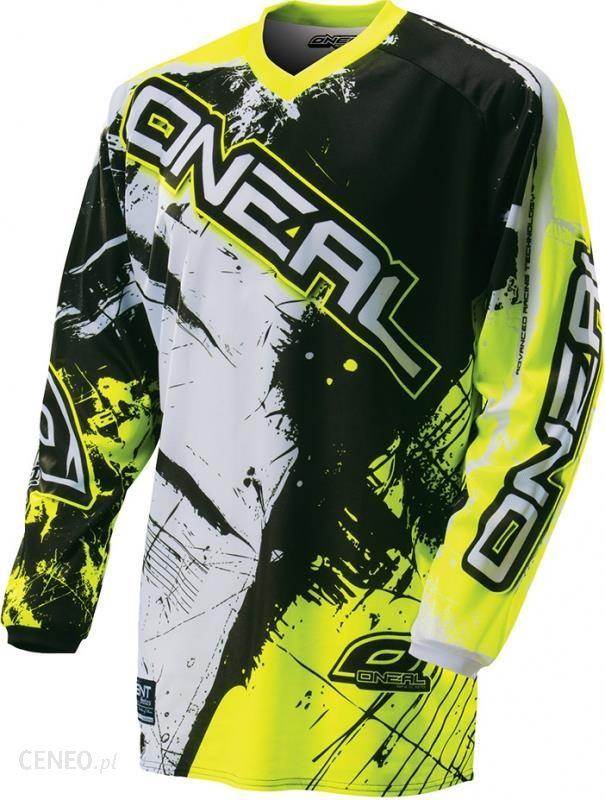b458b95ca ONeal Element Shocker Koszulka Downhill Dzieci żółty 128-134 Koszulki  rowerowe DH / FR -
