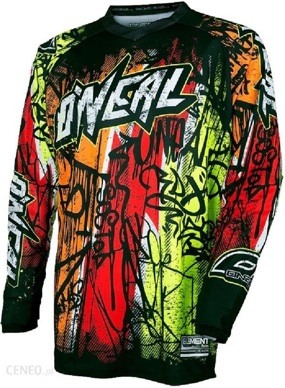 d97ffd269 ONeal Element Vandal Koszulka Downhill Mężczyźni pomarańczowy/cz XXL Koszulki  rowerowe DH / FR -