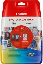 CANON PG-540XL/CL540XL VALUE PACK BLISTER 4X6 PHOT PAPER GP-501 50SHEETS (5222B013)
