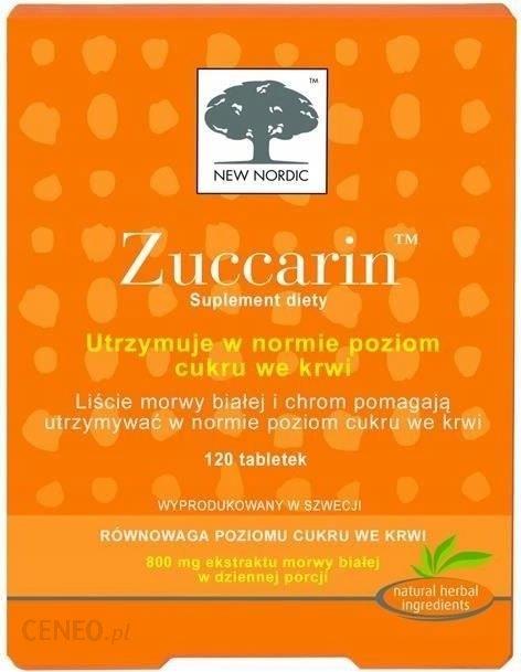 Zuccarin, 120 tabletek - Opinie i ceny na Ceneo.pl