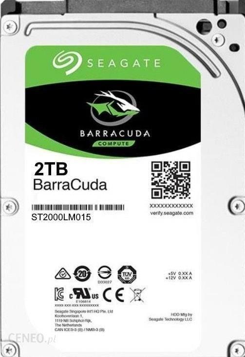 Seagate Barracuda 2TB 2,5