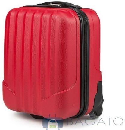 60340f9ca0cd9 Walizka Vip Collection V25-10-232 kabinowa WizzAir 2koła 25l - czerwony