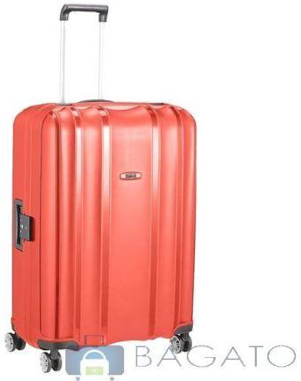 3c2dde9832363 SUMATRA Walizka duża XL na 4 kółkach Foot Print - --Różowy - Ceny i ...
